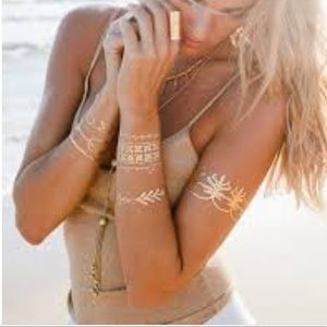 Sobe temporary metallic tattoos - Athena pack